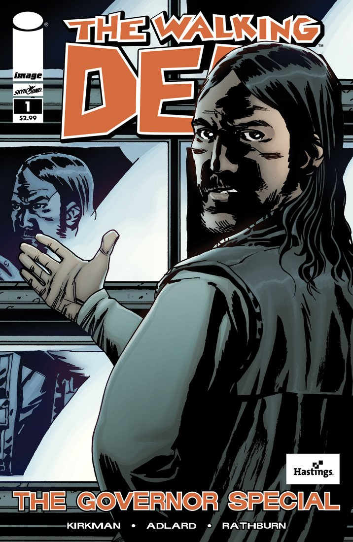 THE WALKING DEAD Governor Special #1 Hastings Variant