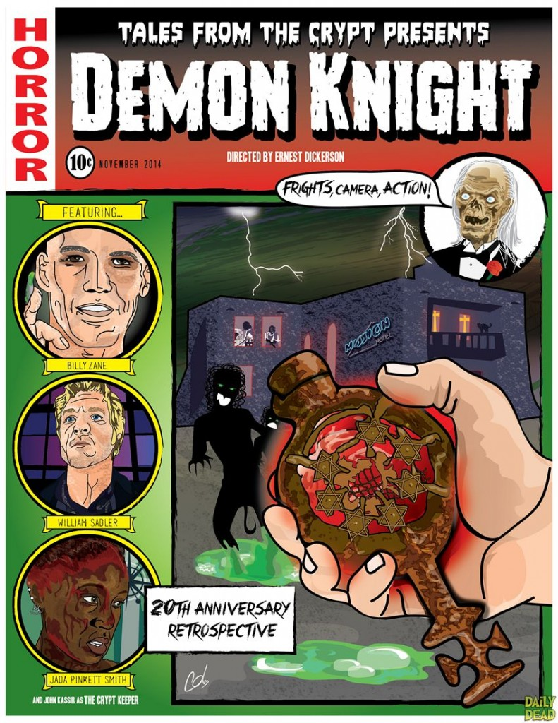 Demon Knight Retro Poster
