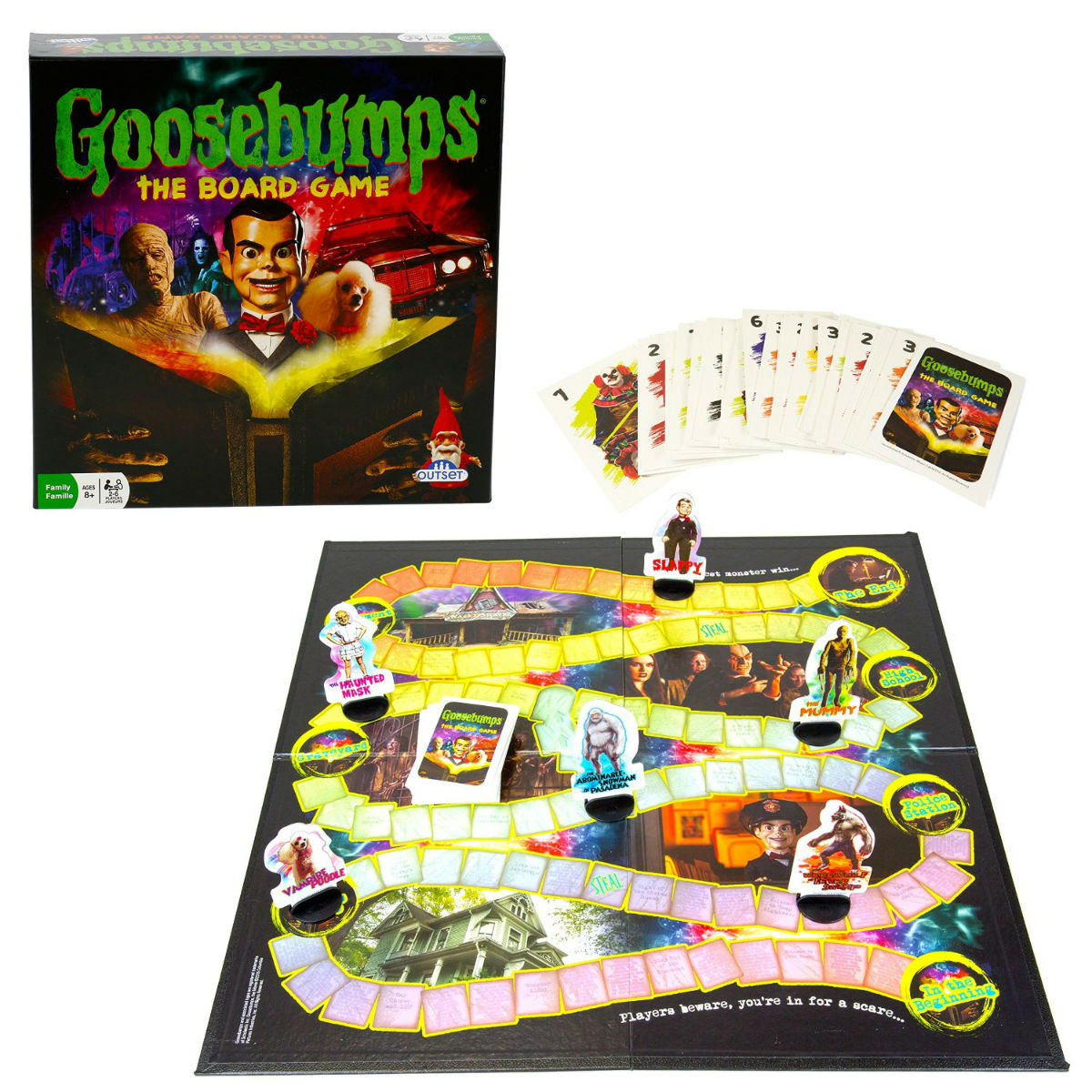 horror themed board games