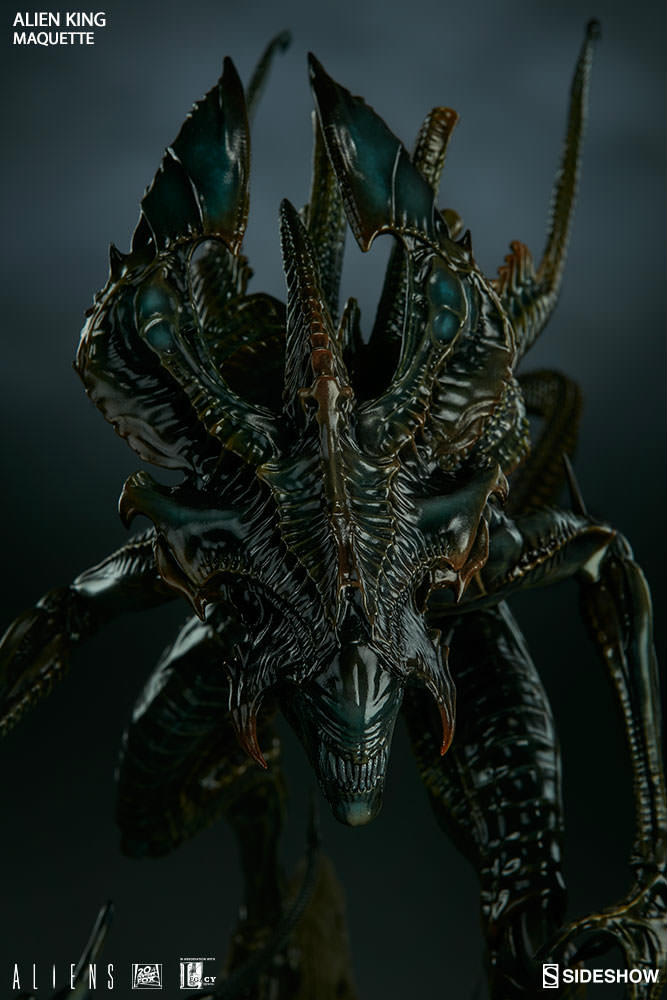 New Photos And Release Details For Sideshows Alien King Maquette