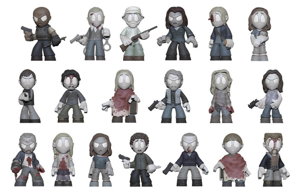 The Walking Dead Quot In Memoriam Quot Mystery Minis Revealed By
