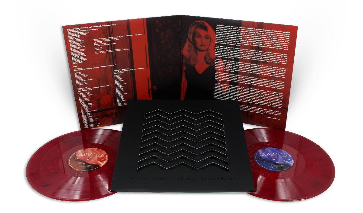 Twin Peaks Fire Walk With Me Vinyl Soundtrack Amp 25th