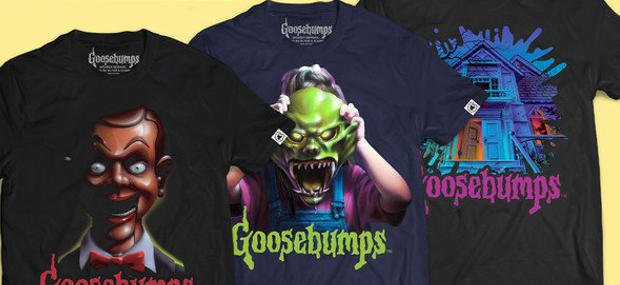 GOOSEBUMPS Shirts & Pins