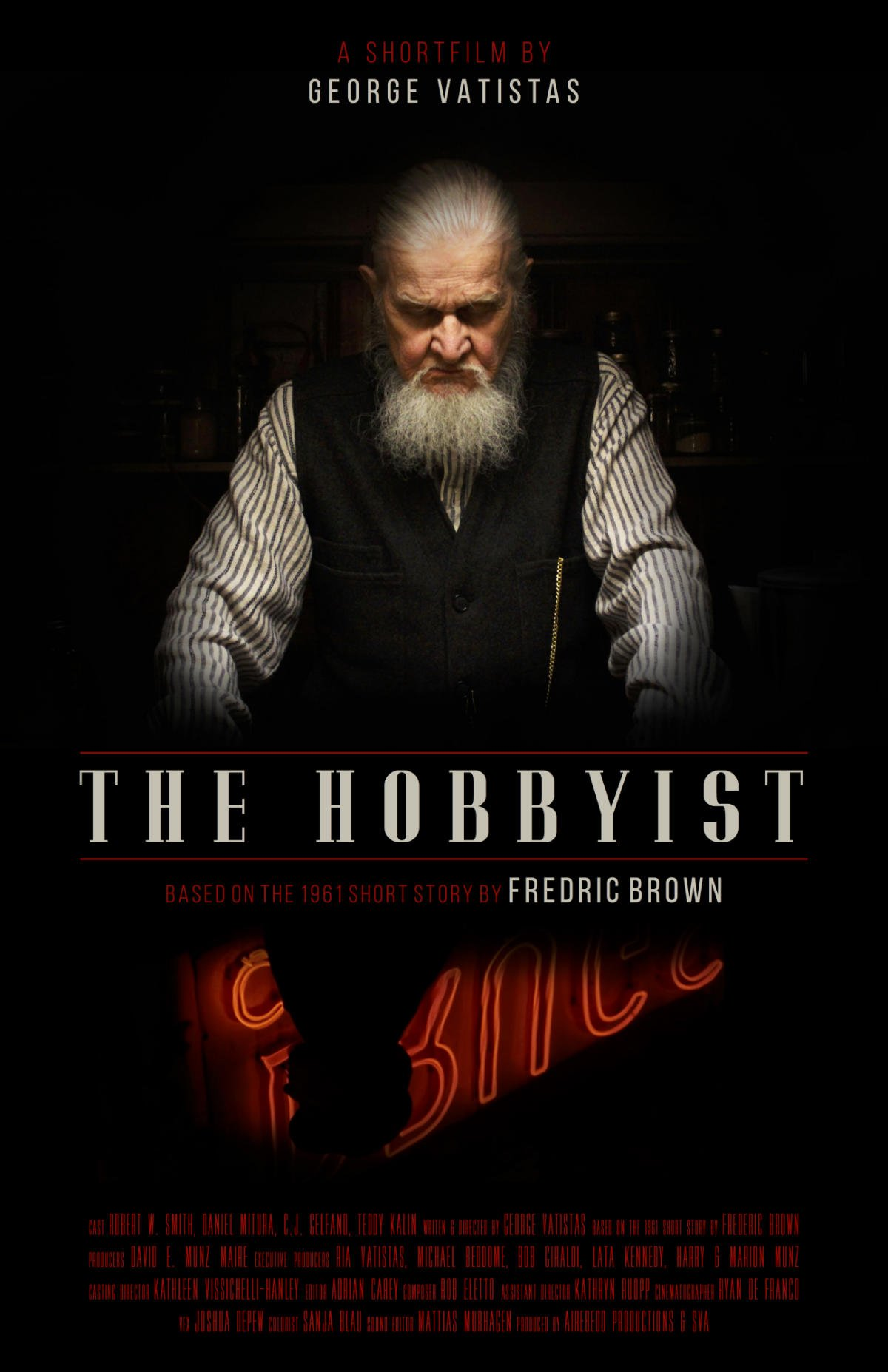 the hobbyist by frederic brown essay The hobbit is considered to be one of the best books written by jrr tolkien created in the tradition of a fairy tale, with author's effort to integrate two interests, stories for his three sons and a mythology of england, the book has had a corner in hearts of many.