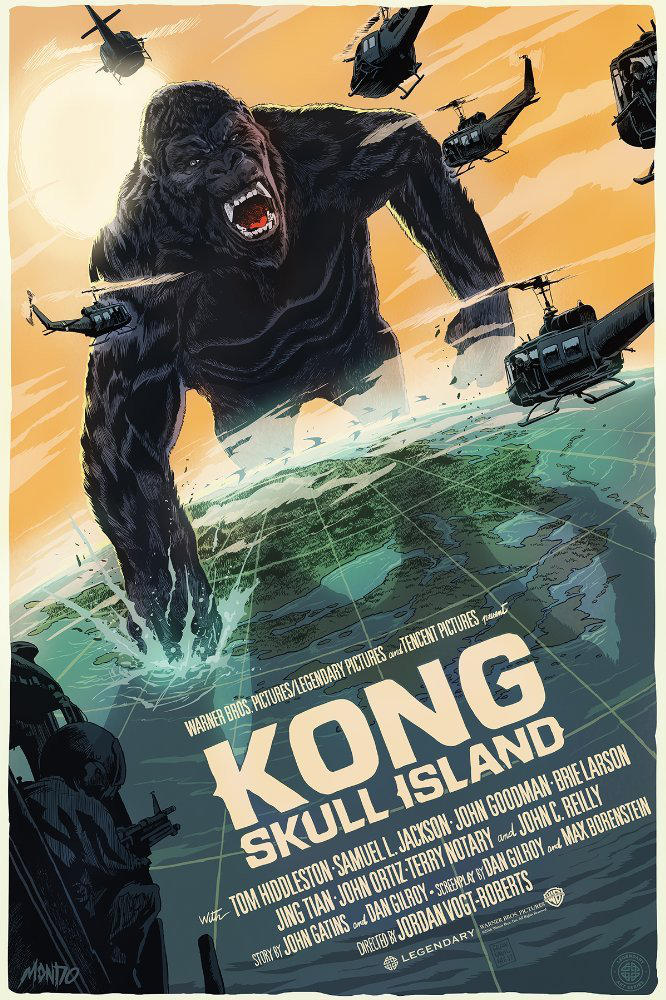Mondo To Release New Kong Skull Island Posters By