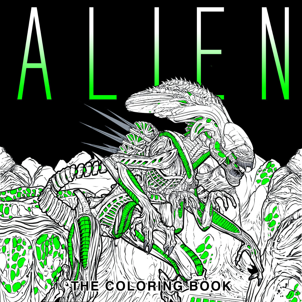 The coloring book of the dead - Contest Win A Copy Of Aliens Bug Hunt And Alien The Coloring Book