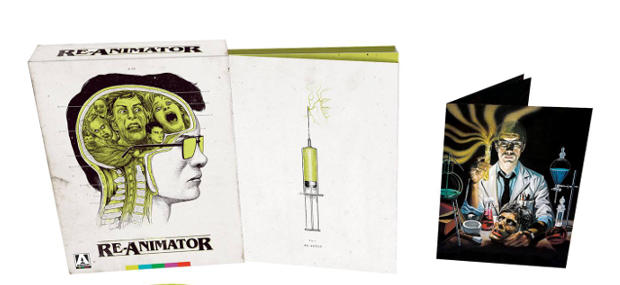 New RE-ANIMATOR Blu-ray