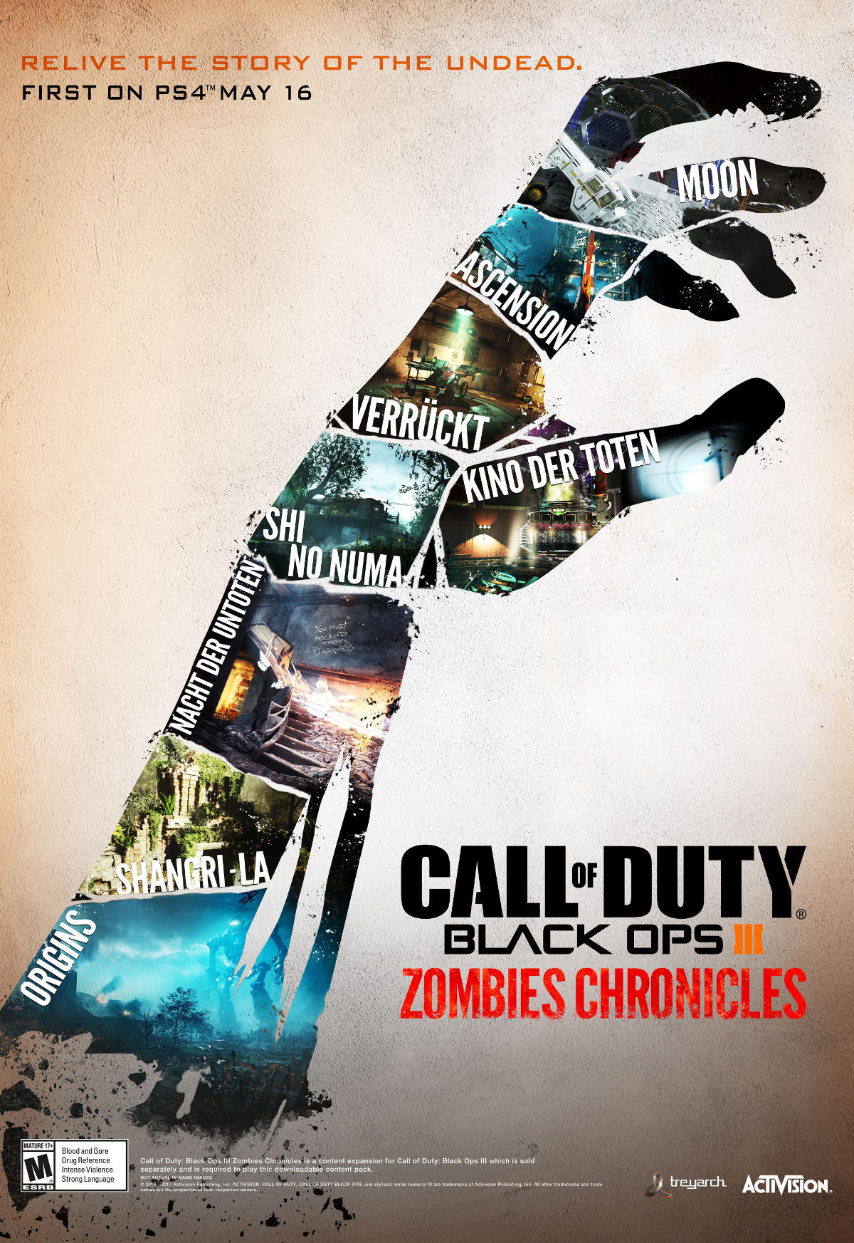 Cod Zombies Chronicles Key Art Daily Dead