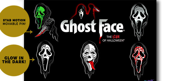 You Better Figure Out What Your Favorite Scary Movie Is, Because  Cavitycolors Will Bring That Question To Mind With Their New Ghost Face Enamel  Pin ...