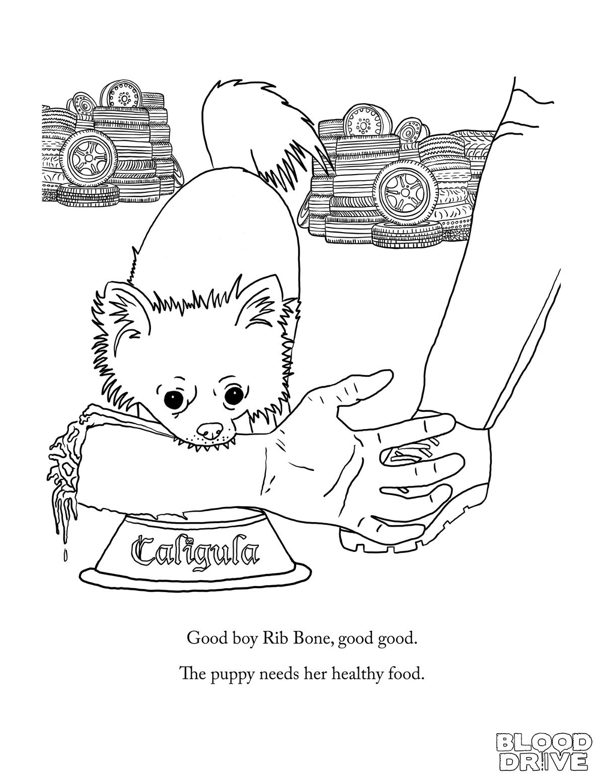 give blood coloring pages - photo#3