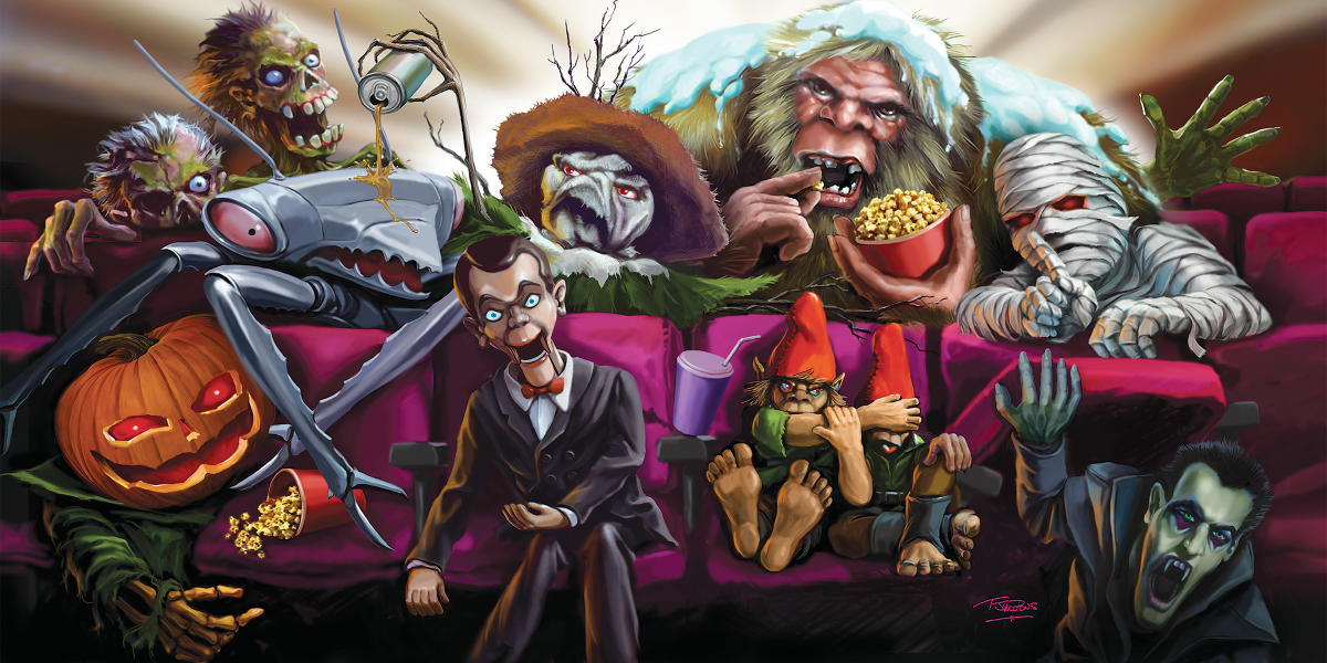 Graphic Nature Tim Jacobus On Creating The Goosebumps