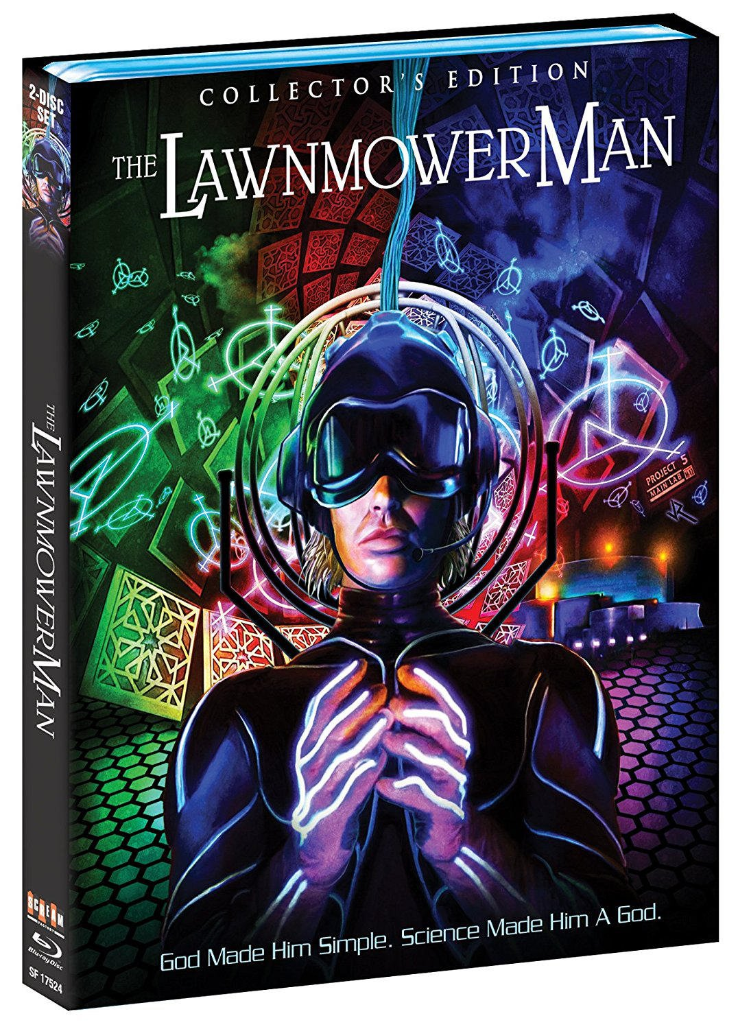 Contest: Win THE LAWNMOWER MAN Collector's Edition on Blu-ray