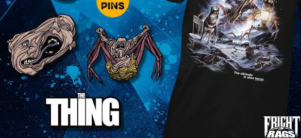 THE THING Pins & Shirt