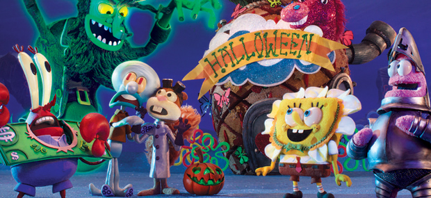 Comic-Con 2017: Watch a Clip from the SpongeBob Halloween Special