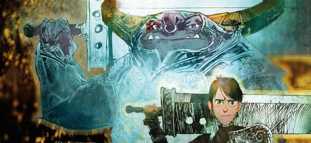 Comic con 2017 new trollhunters graphic novel coming from dark its been announced that dark horse comics guillermo del toro and universal brand development have teamed up to create trollhunters the secret history of ccuart Image collections