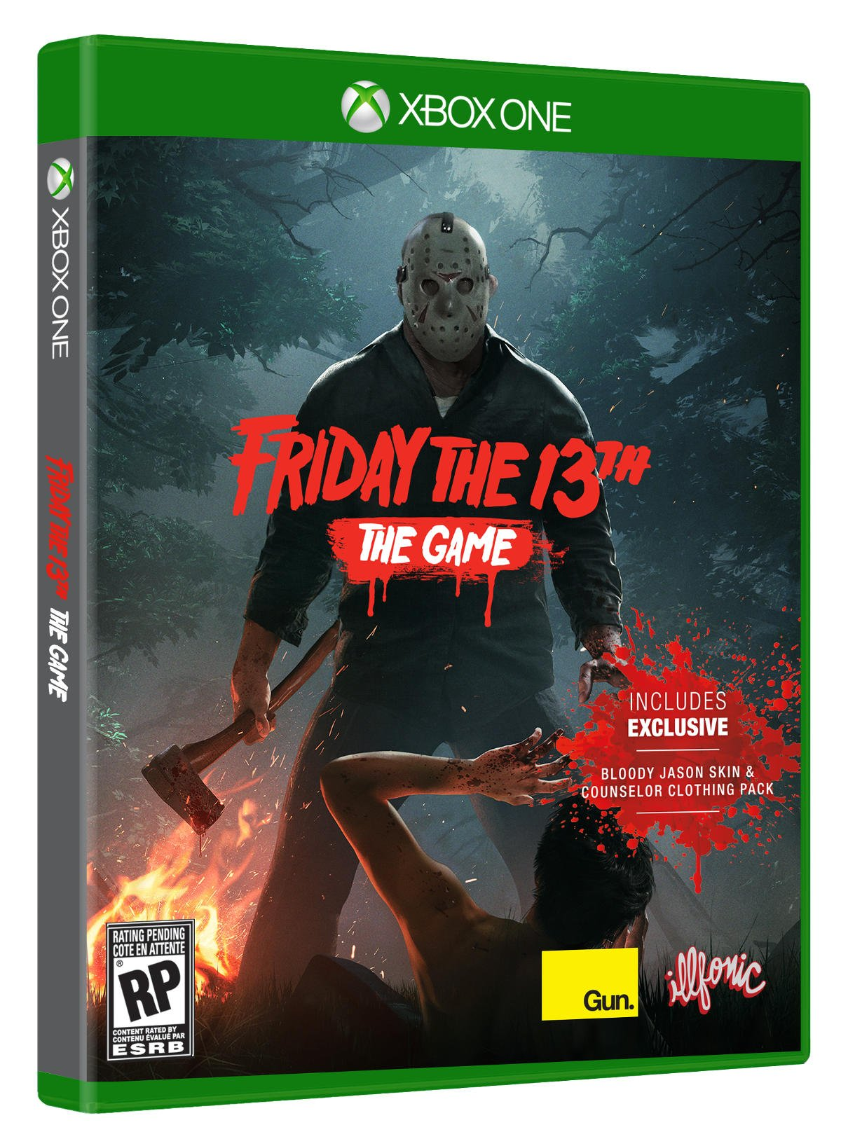 X Box 1 Games : Friday the th game physical edition to be released