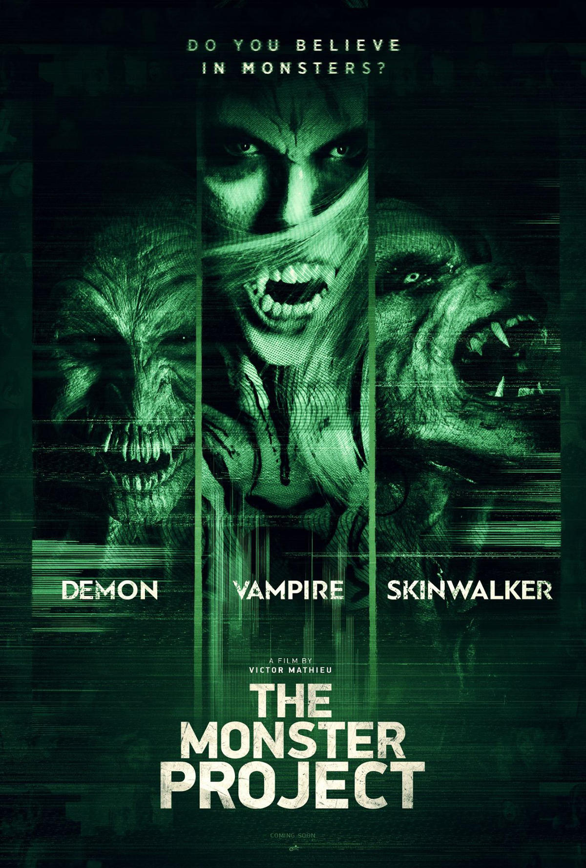 Skinwalker Chases Human Prey in our Exclusive Clip from THE MONSTER