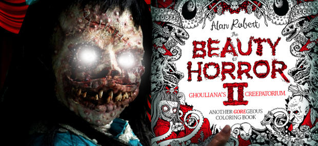 The Beauty Of Horror Ii Another Goregeous Coloring Book Release
