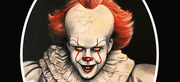 Check Out Pennywise And The Shining 1980 Artwork That