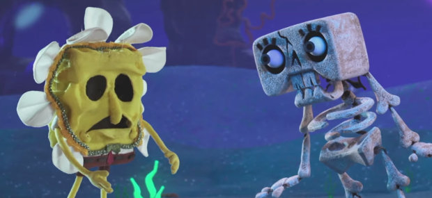 SpongeBob Stop-Motion Halloween
