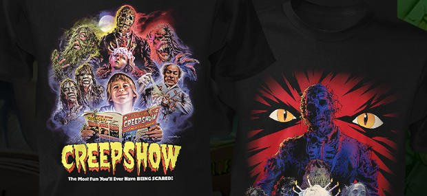 Fright Rags Celebrates 35 Years of CREEPSHOW with Eight New