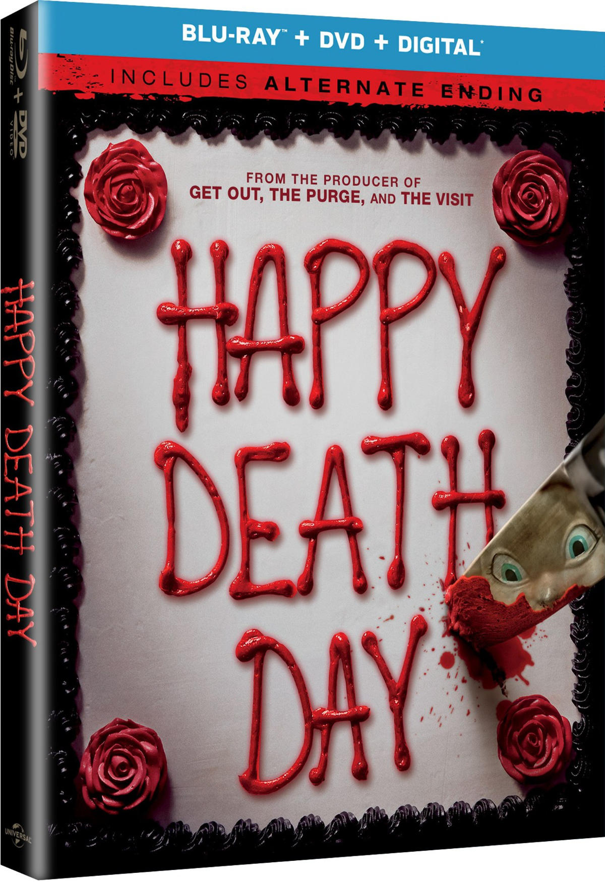 Happy death day coming to blu ray dvd digital with alternate happy death day trailer 1 2017 movieclips trailers stopboris Choice Image