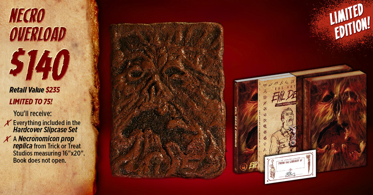 Contest: Win an EVIL DEAD 2 Prize Pack from Space Goat
