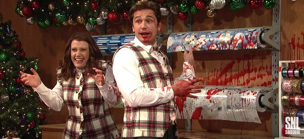 Blood-Soaked SNL Holiday Skit