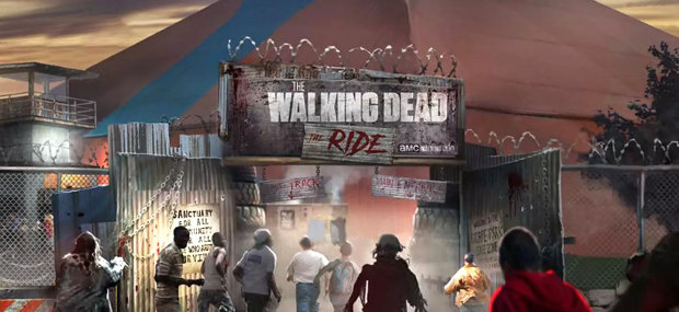 THE WALKING DEAD Roller Coaster