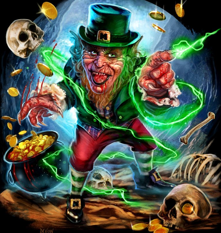 Leprechaun cavitycolors 01 daily dead cavitycolors celebrates saint patricks day with leprechaun buy or die apparel thecheapjerseys Images