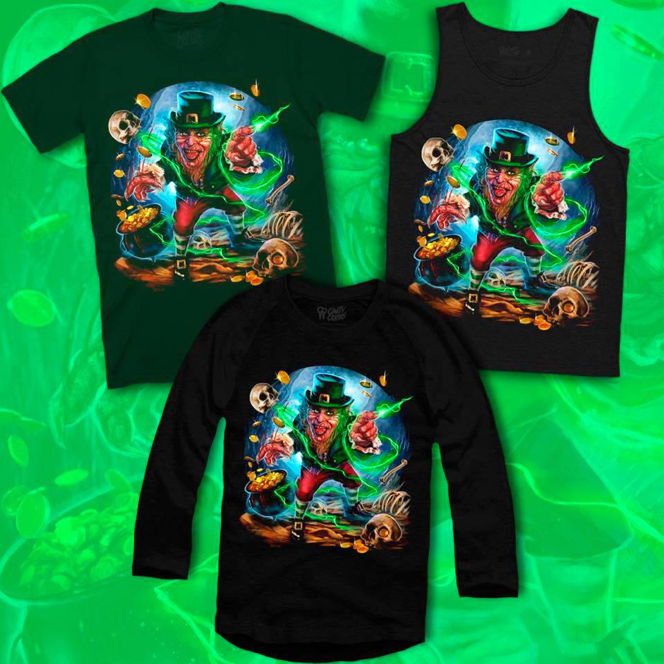 2dce5121 You can celebrate Saint Patrick's Day early by checking out the new design  below, and visit Cavitycolors' website for more details!