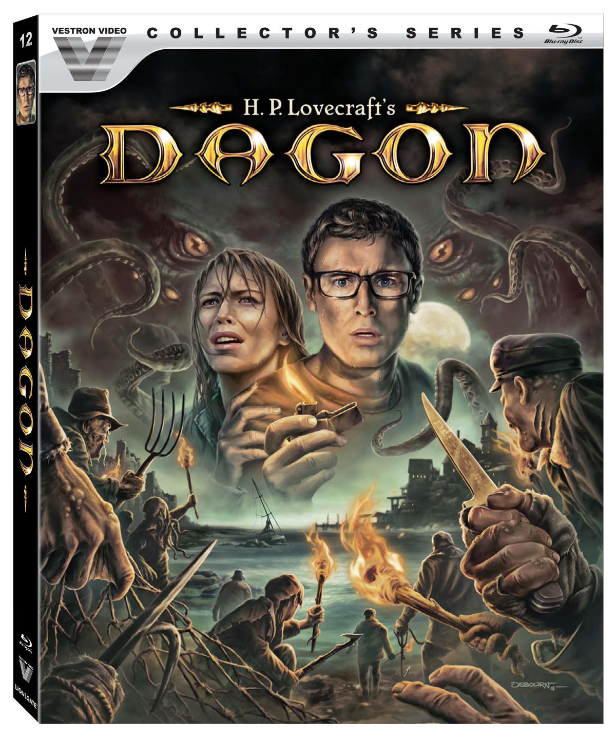 Stuart Gordon's DAGON to be Released as Vestron Video Collector's