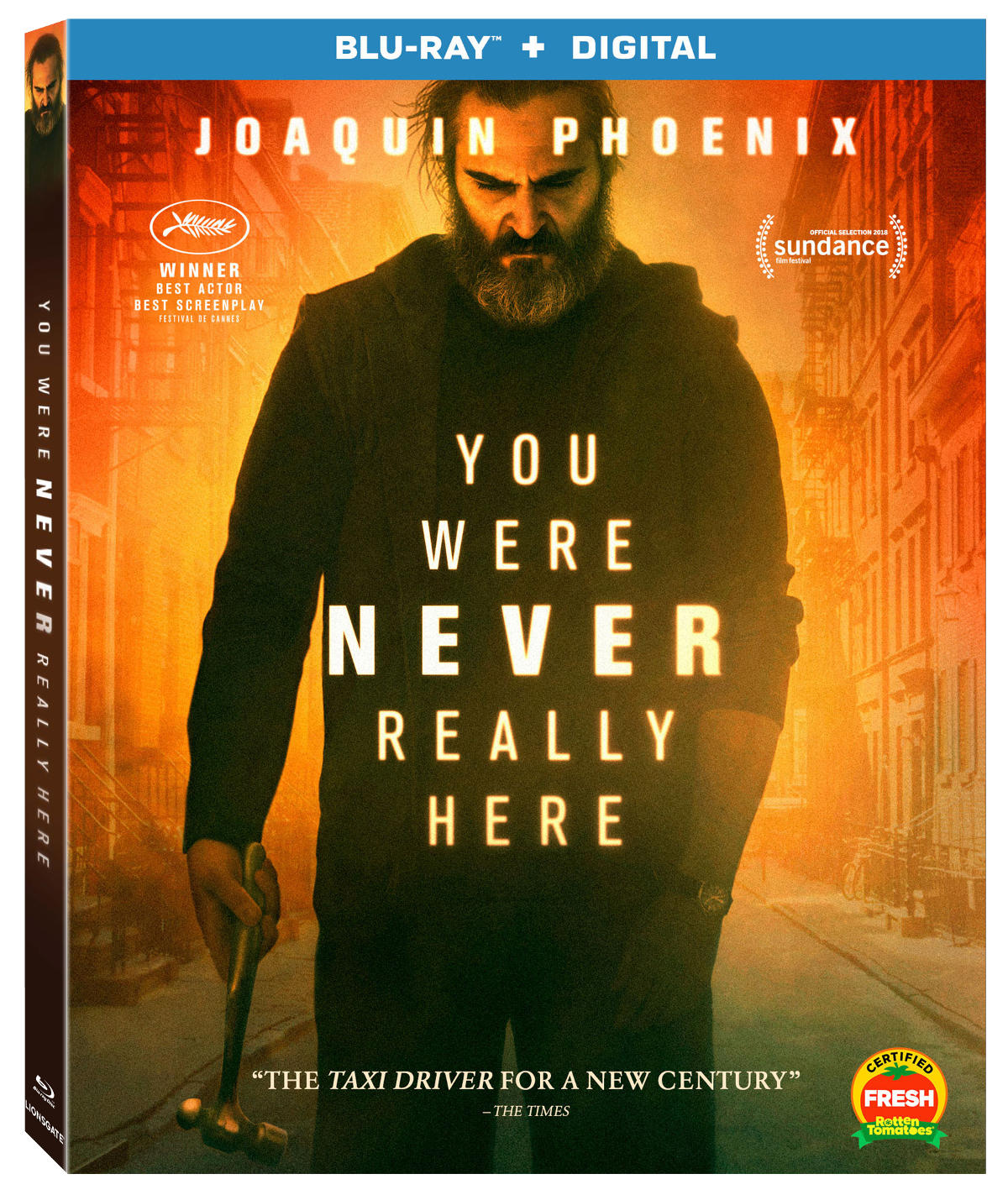 Lionsgate To Bring The Hammer This July With You Were Never Really