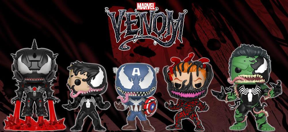 e6baeb903a3 Funko s Pop! Marvel Venom Figures Ooze into Shops This September ...