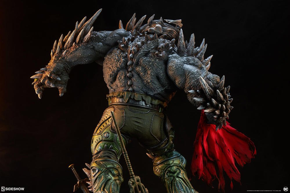 Sideshow Dc Doomsday Maquette 03 Daily Dead