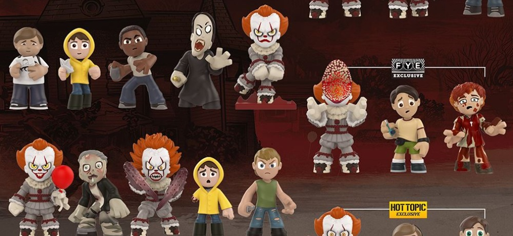 Funkos It 2017 Mystery Minis Include The Losers Club And