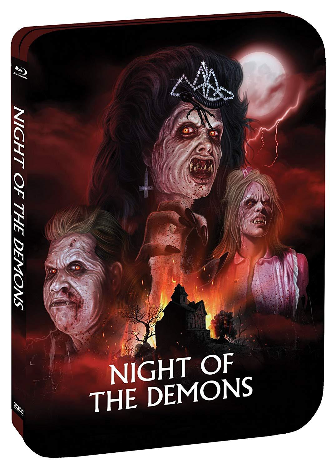 Amelia Kinkade Night Of The Demons contest: win a limited edition night of the demons (1988