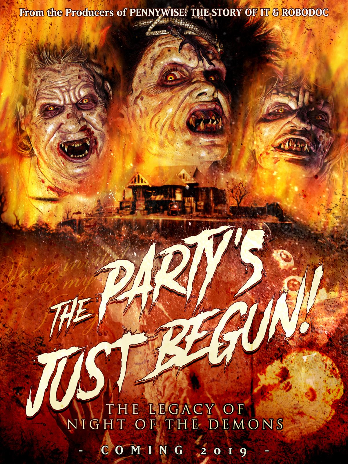 Amelia Kinkade Night Of The Demons trailer released for new documentary the party's just begun