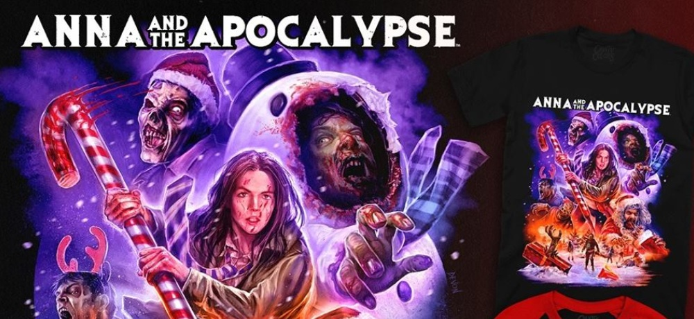 Zombie Christmas Musical.New Anna And The Apocalypse Apparel Unwrapped By