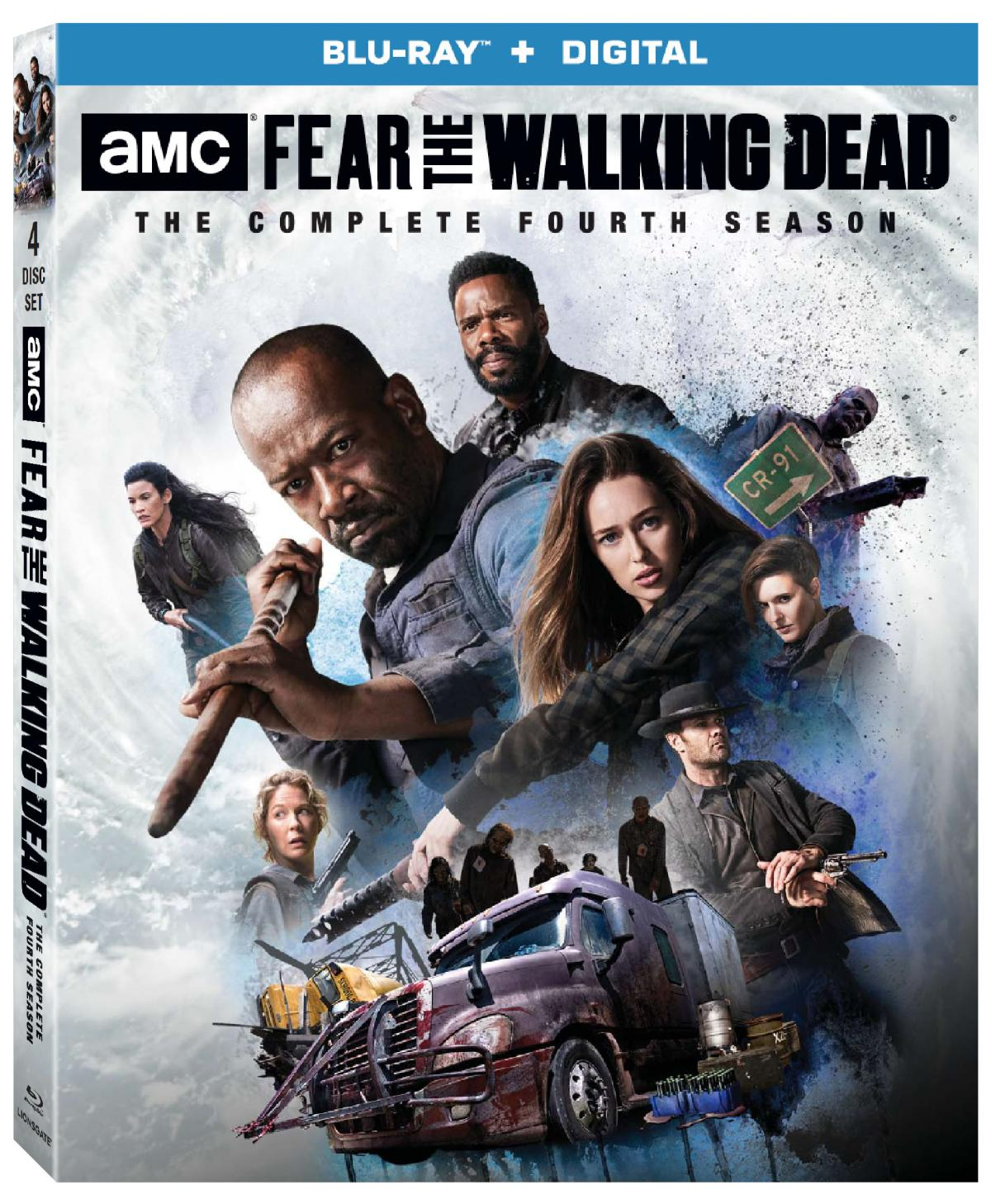 FEAR THE WALKING DEAD Season 4 Coming to Blu-ray and DVD on ...