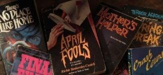 '90s Teen Horror Books