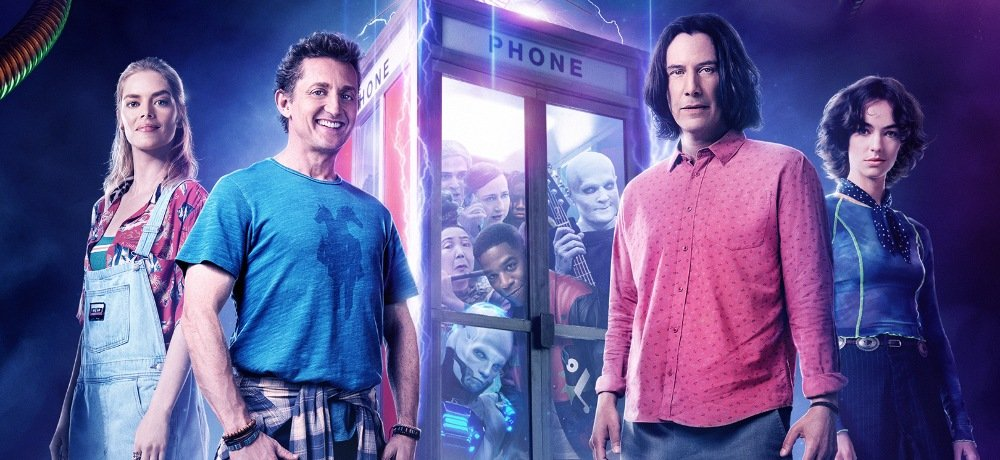 """""""The Future Awaits"""" in New Trailer & Poster for BILL & TED FACE THE MUSIC"""